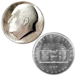 Lot de 2 Monnaies Argent...