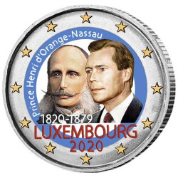 2 Euro Luxembourg 2020...