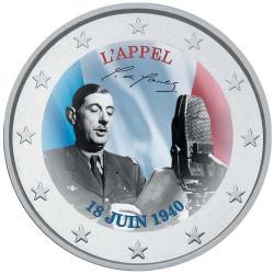 2 Euro Charles de Gaulle...