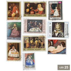25 timbres Velasquez*