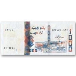 Billet 1 000 Dinars Algérie...