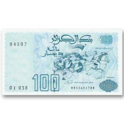 Billet 100 Dinars Algérie...