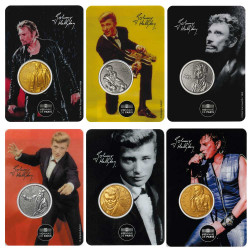Lot des 6 Blisters Johnny...