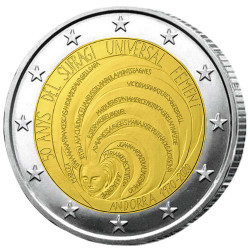 2 Euro Andorre BU 2020 - 50...