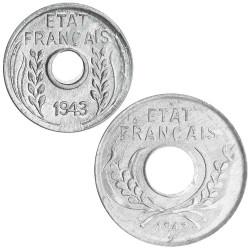 1, 5 centimes Indochine