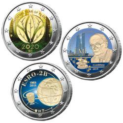 Lot 3 x 2 Euro Belgique...