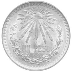 """1 Peso Argent Mexique """"Cap..."""