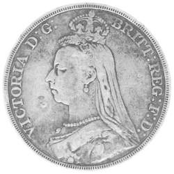 1 Couronne Argent Victoria...