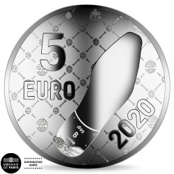 5 Euro Argent France BE...