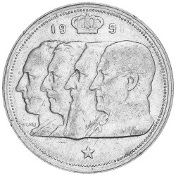 100 Francs Argent Belgique...