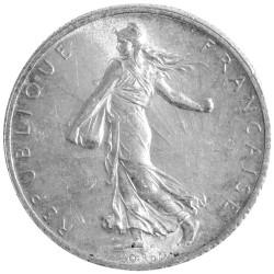 2 Francs Argent Semeuse 1913