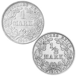 Lot des monnaies Allemagne...