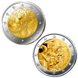 Lot des 2 x 2 Euro France 2020