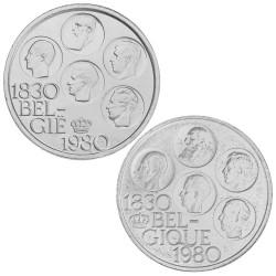 Les 2 x 500 Francs Belgique...