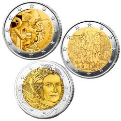 Lot des 3 x 2 Euro France...
