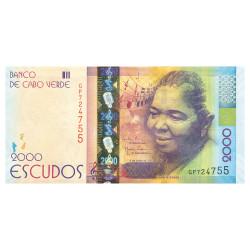 2000 Escudos Cap Vert 2014...