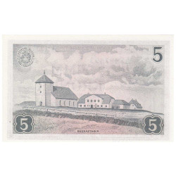 5 Couronnes Islande 1957 -...