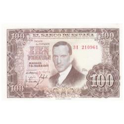 100 Pesetas Espagne 1953 -...