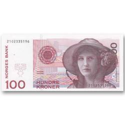 100 Couronnes Norvège 1995...