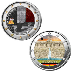 Lot 2 x 2 Euro Allemagne...