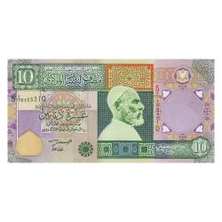 10 Dinars Libye 2002