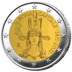 2 Euro Italie 2021 - Rome :...