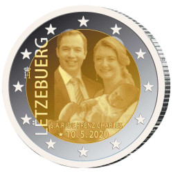 2 Euro Luxembourg BE 2020...