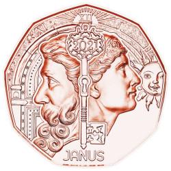 5 Euro Autriche 2021 - Janus