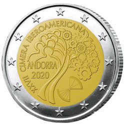 2 Euro Andorre BE 2020 -...