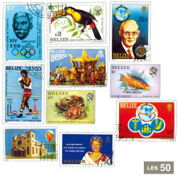 50 timbres Belize