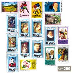 200 timbres Grenade et...