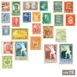 Les 75 timbres