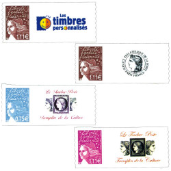 4 timbres Marianne