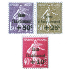 3 timbres YT 266/268