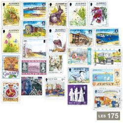 Les 175 timbres...