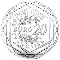 20 Euro Argent France BE 2020 - Jacques Chirac