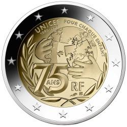 2 Euro France BE 2021 - UNICEF