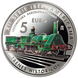5 Euro Argent Espagne BE...
