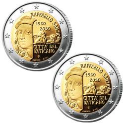 Lot de 2 x 2 Euro Vatican...