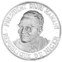 1000 Francs Argent Niger...