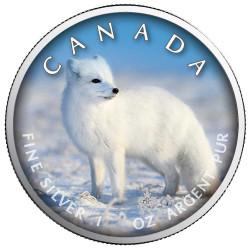 5 Dollars Argent Canada BU...