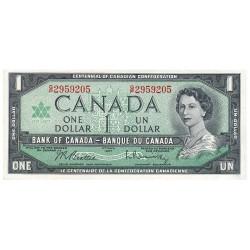 Billet 1 Dollar Canada 1967