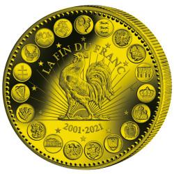 Euro Or BE 2021 - 20 ans de...