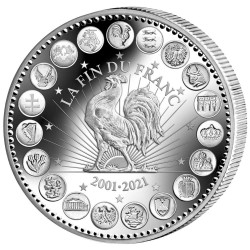 Euro Argent BE 2021 - 20...
