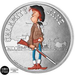 Mini médaille Lucky Luke -...
