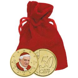 50 Centimes Vatican 2010...