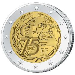 2 Euro France 2021 - 75 ans...