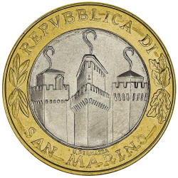 1000 Lires Saint-Marin 2001