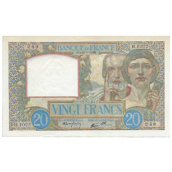 20 Francs - Sciences et...