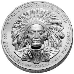 1 Dollar Argent Lakota...